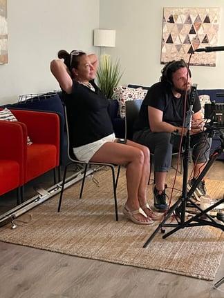 LA Scilla filming