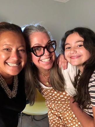 LA family with Scilla