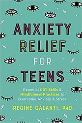 book anxiety relief for teens