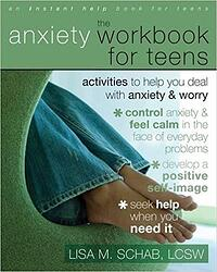 book anxiety workbook for teens