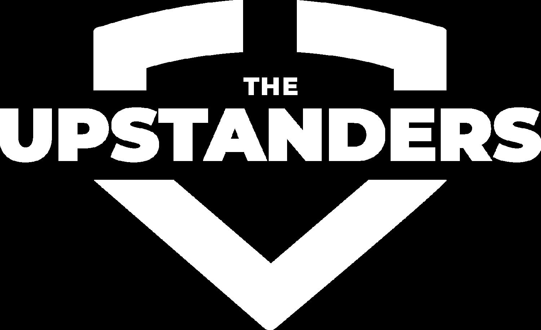 upstanders logo white