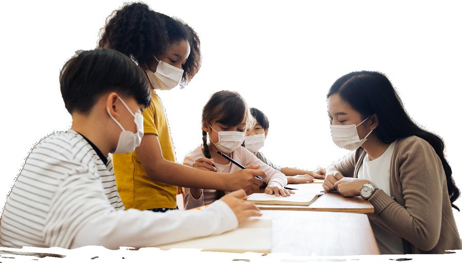 Masked-Kids-in-Class-Organic-Bottom-Line